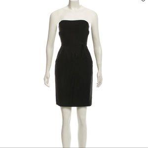 New Helmut Lang Strapless Mini Dress